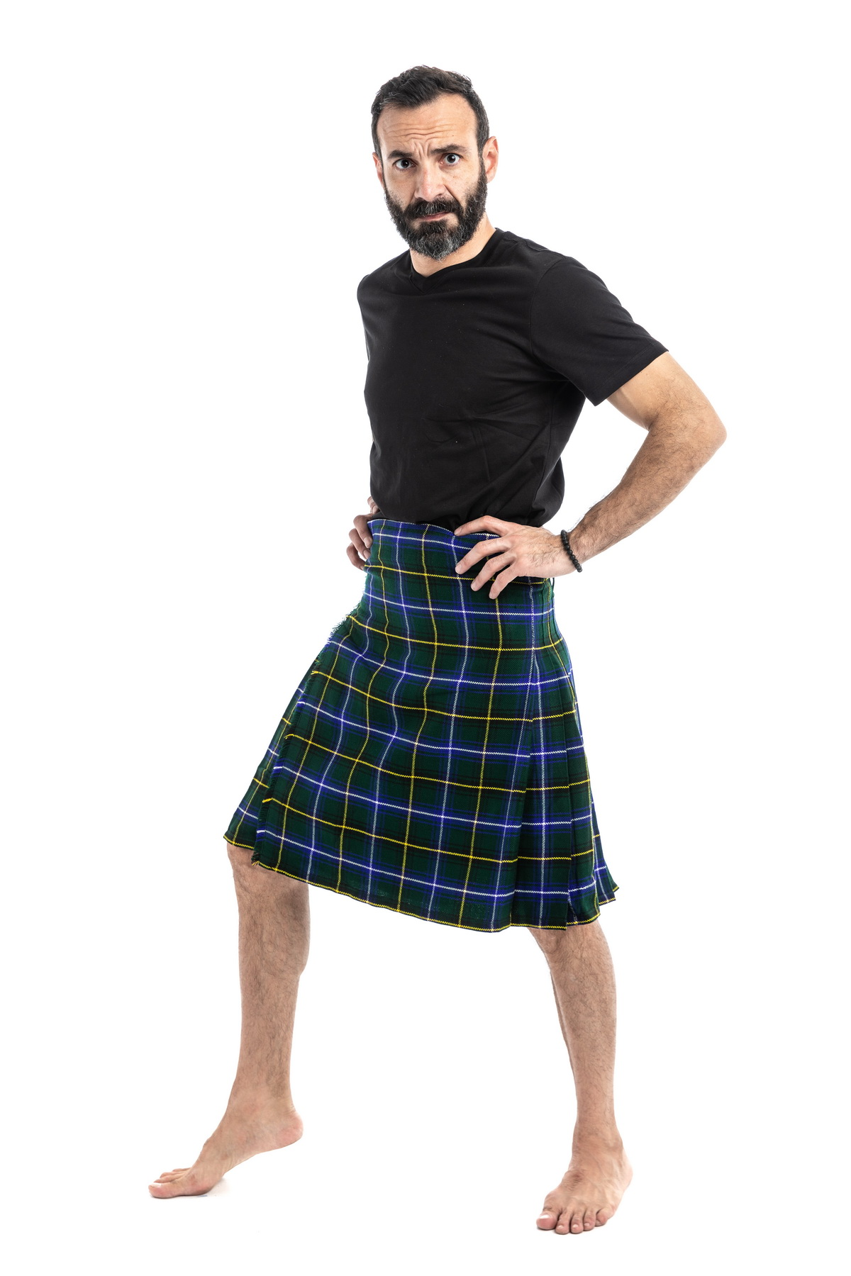 HENDERSON TARTAN KILT-right