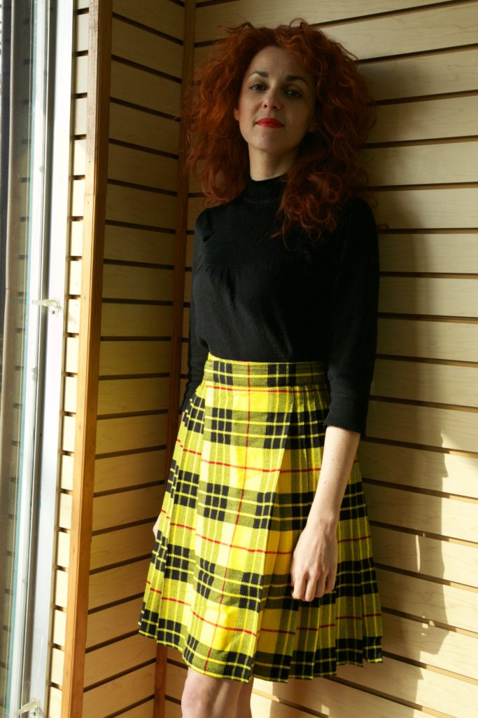 Casual Kilt for Women left