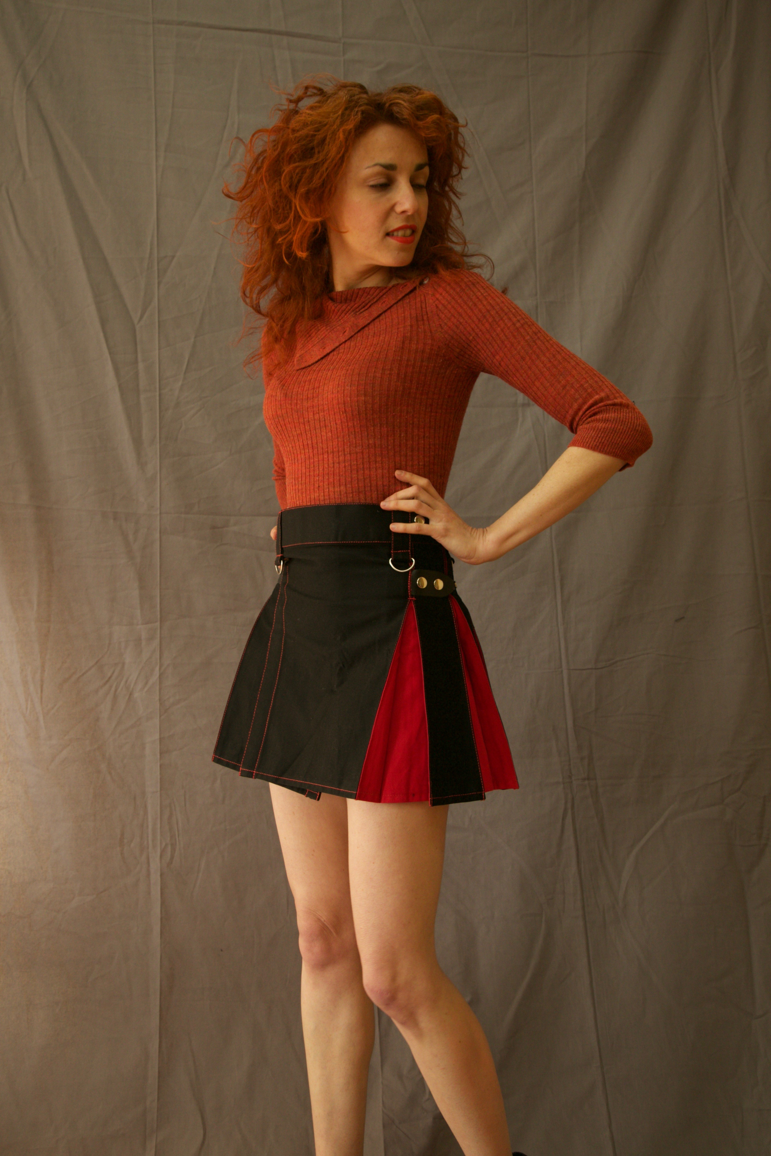 Mix & Match Hybrid Kilt With Front Pocket left