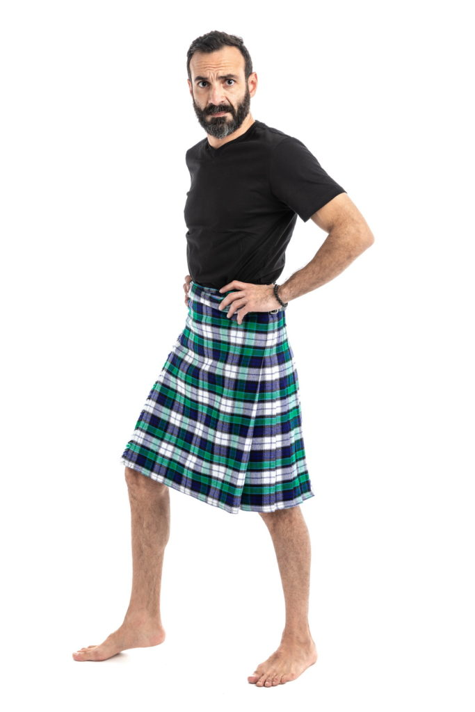 GRAHAM DRESS TARTAN KILT-left