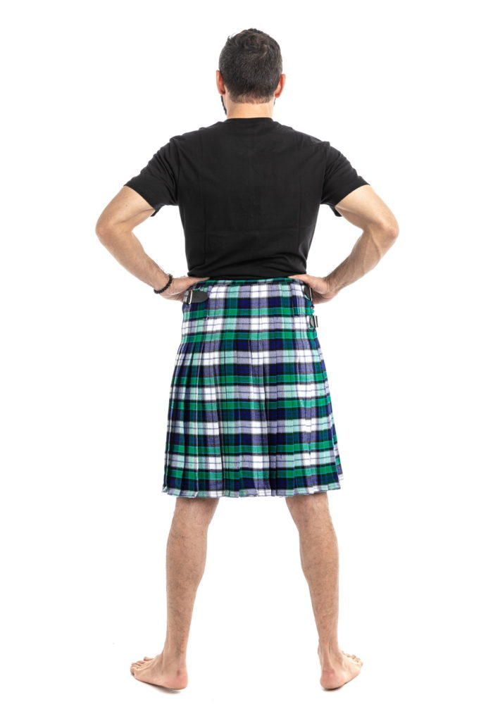 GRAHAM DRESS TARTAN KILT-back