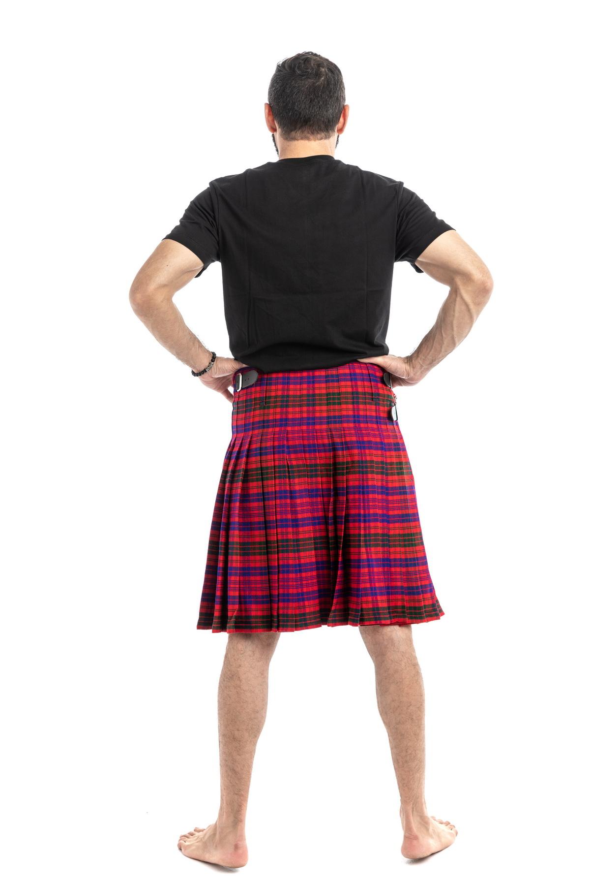 Ross Tartan Kilt-back