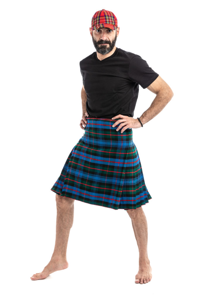 Murray Tartan Kilt-left