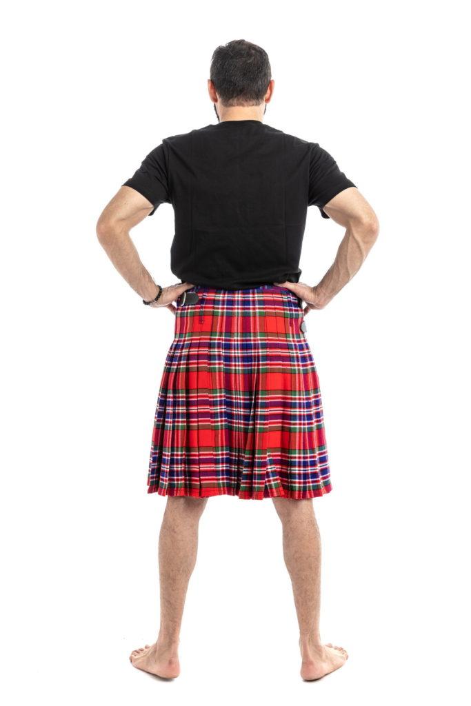 MacFarlane Tartan Kilt-back