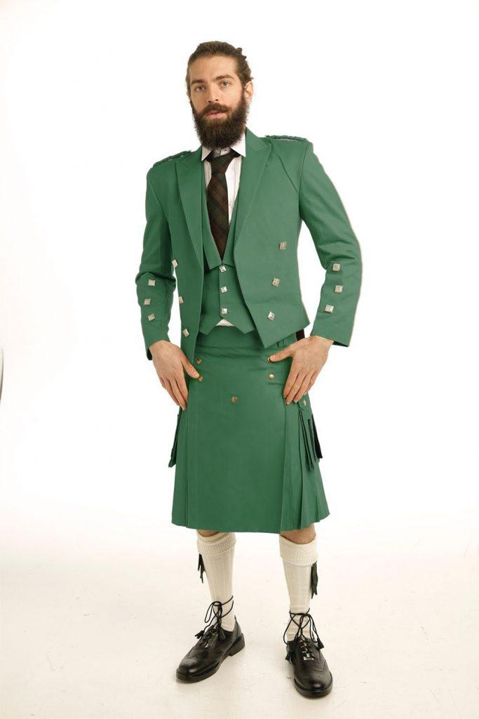Casual Prince Charlie Kilt Outfit 1