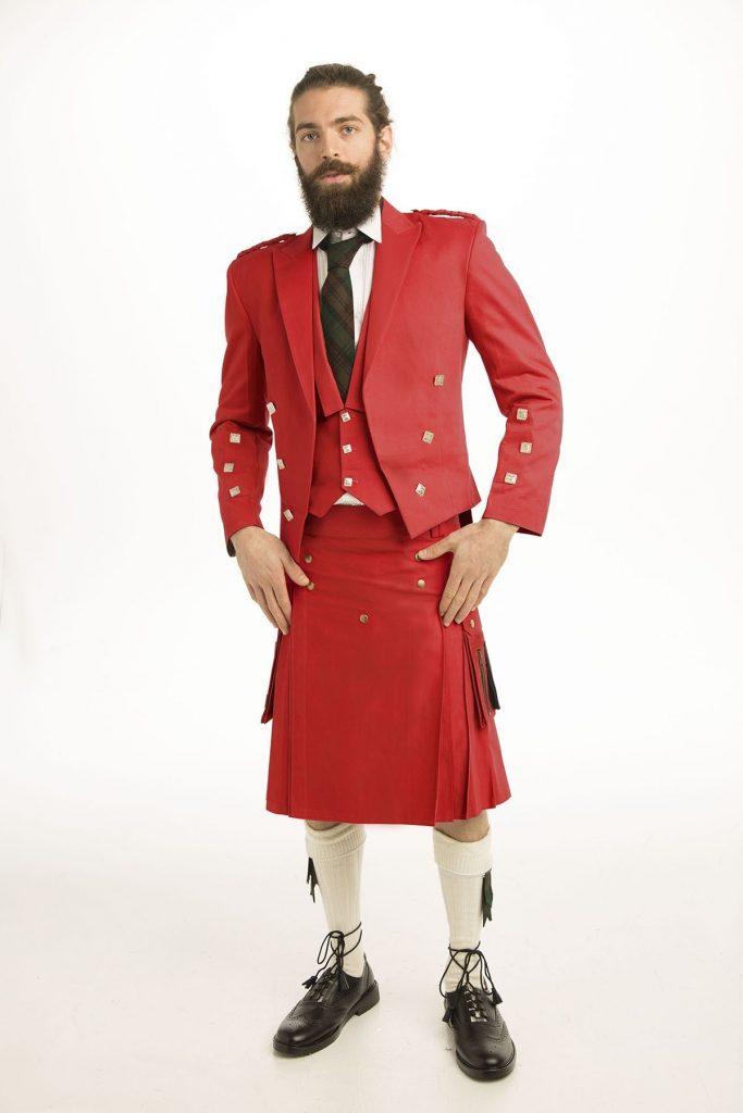 Casual Prince Charlie Kilt Outfit