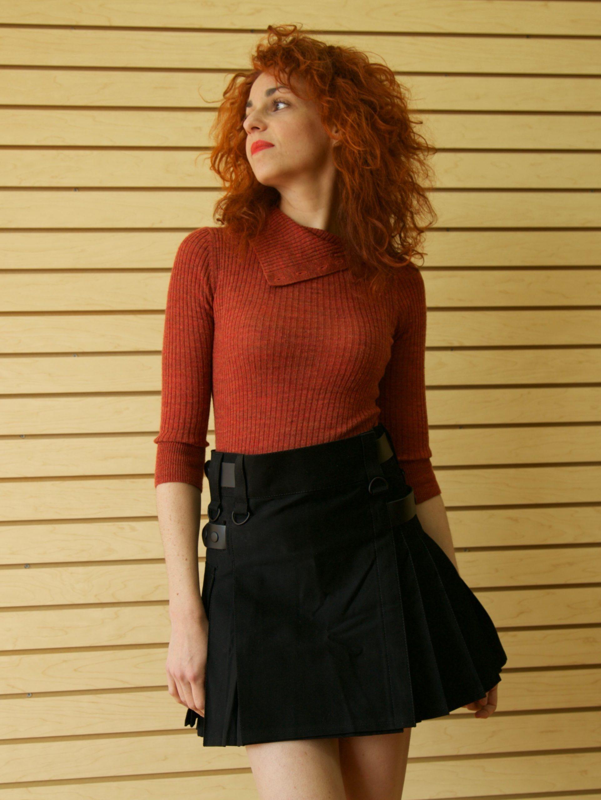 Deluxe hybrid kilt for working women