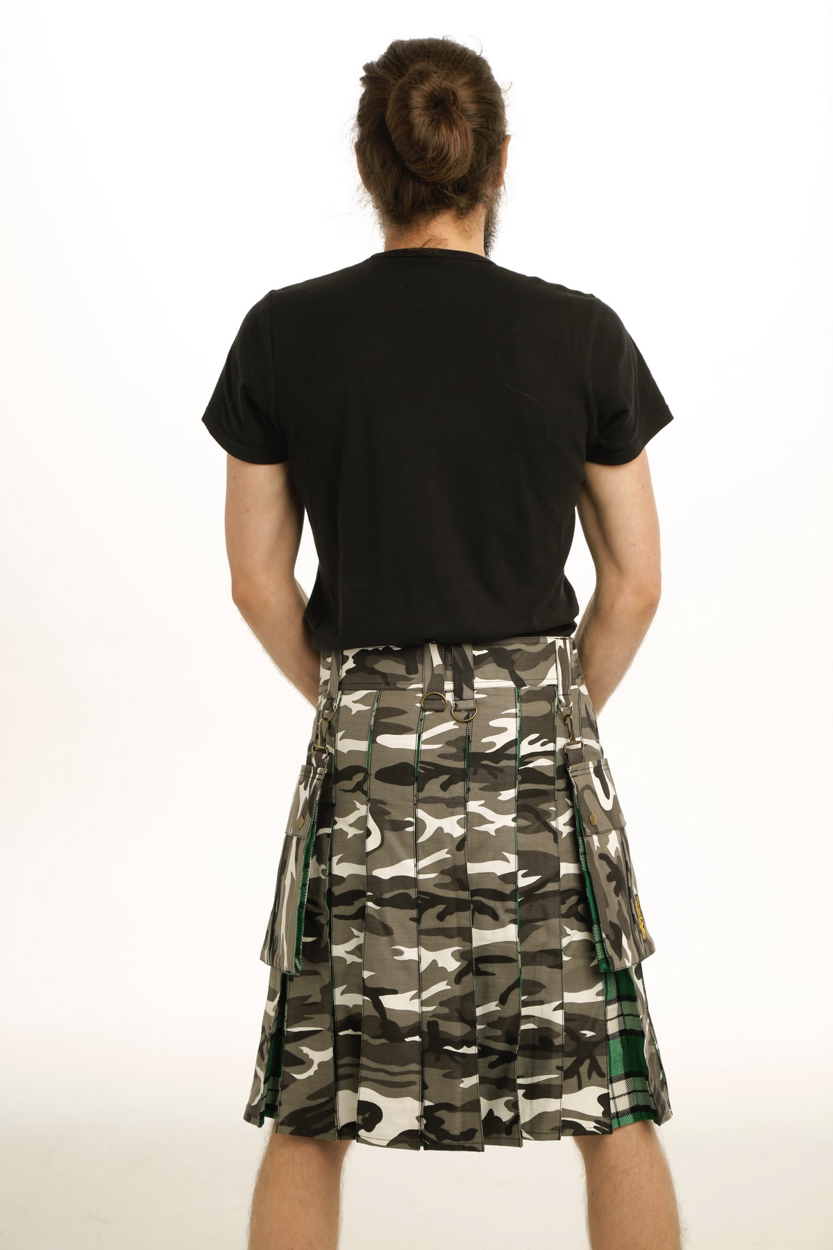 Tactical Hybrid Kilts back