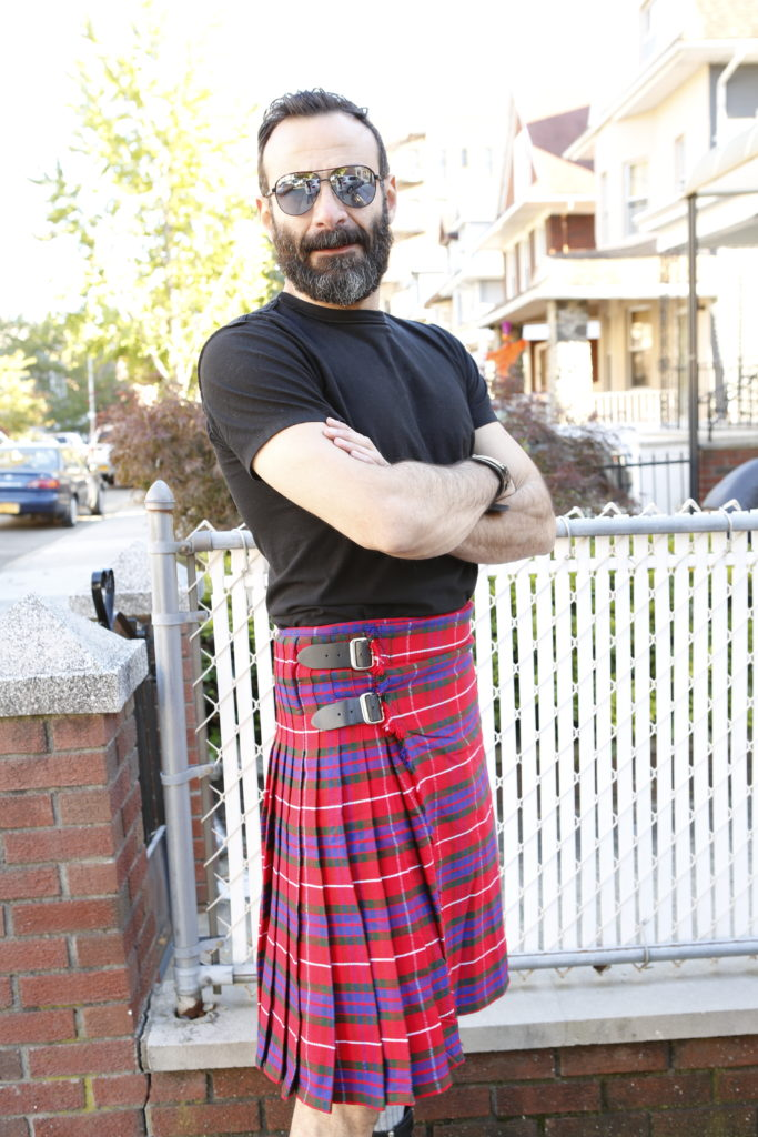 Fraser Tartan Kilt-back-right