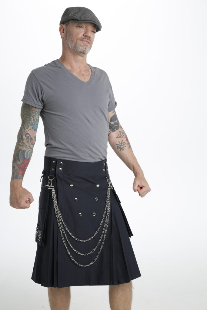 Fashion Kilt For Burning Man-right