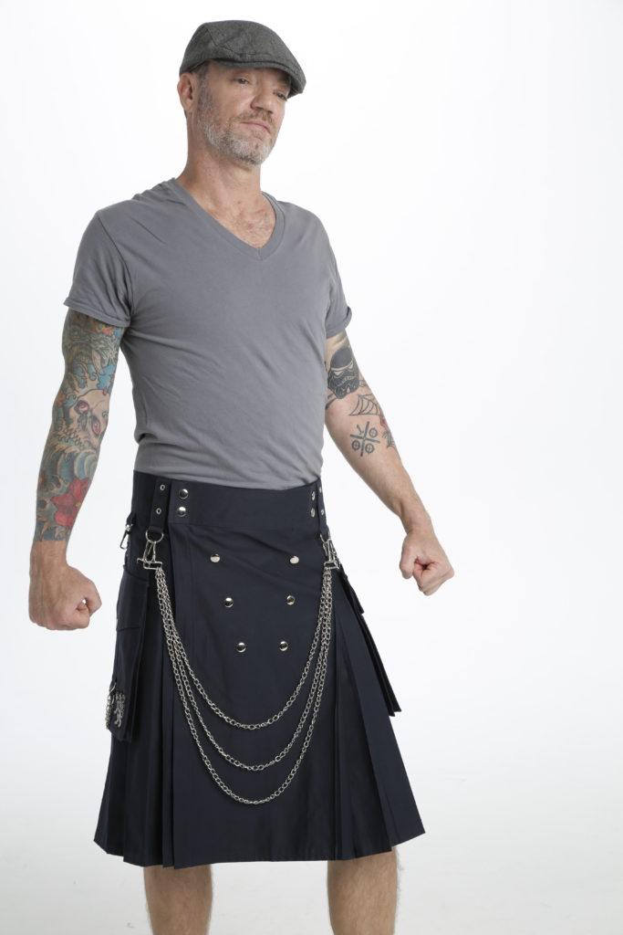 Fashion Kilt For Burning Man-right