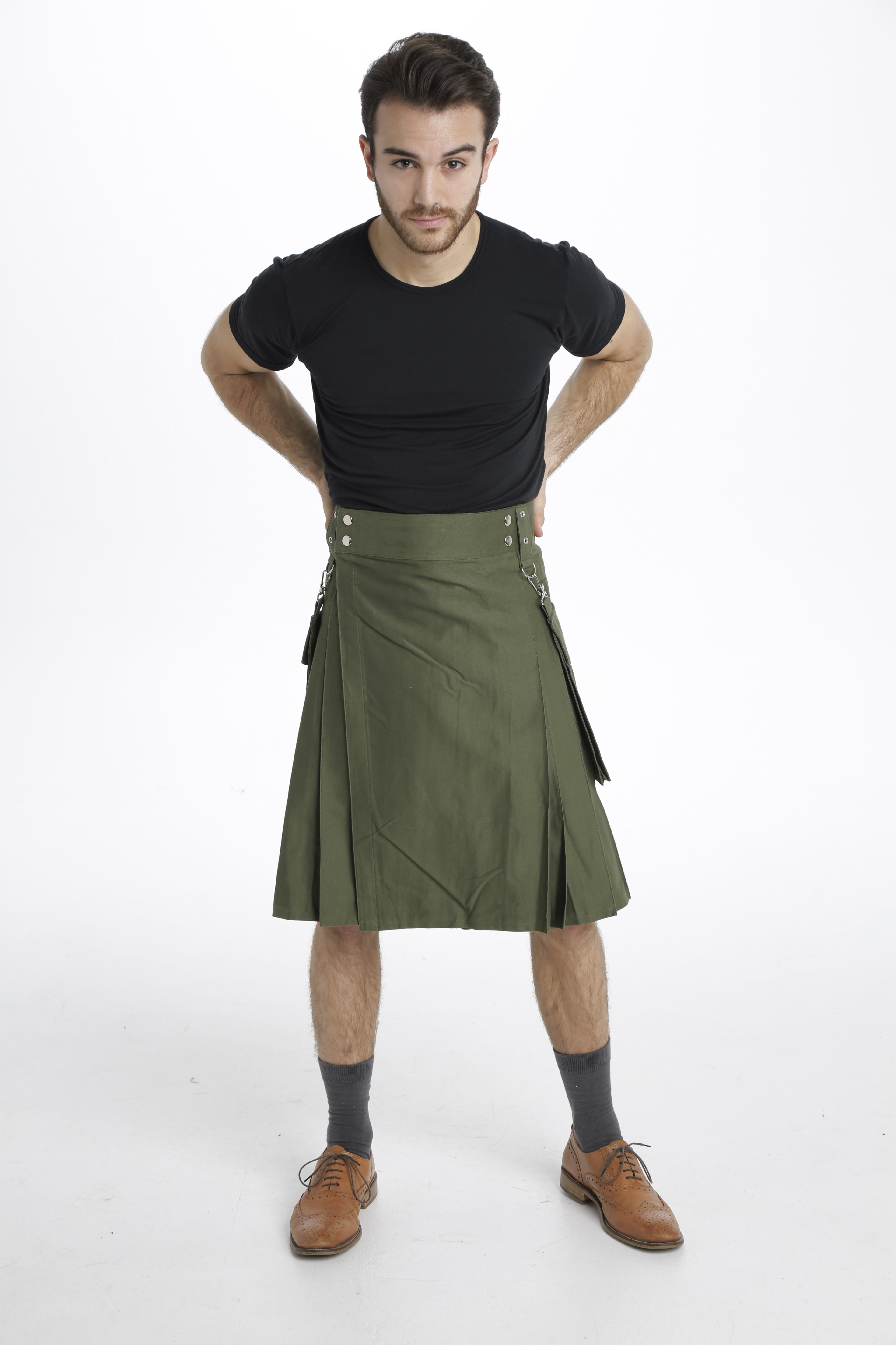 Running Kilt For Sports Men front