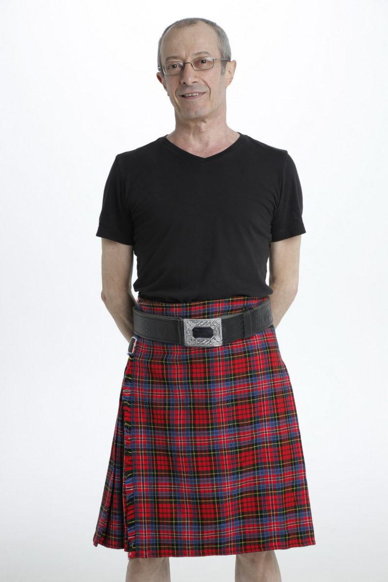 MacPherson Tartan Kilt-front