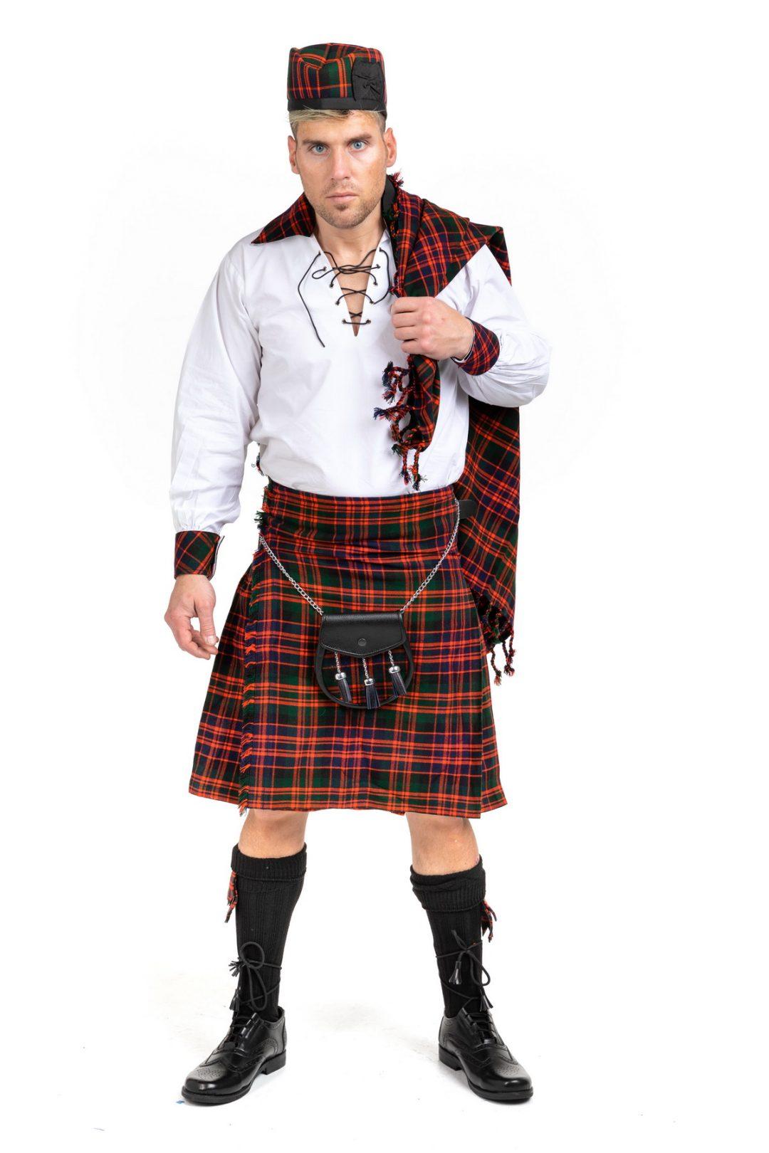 Macdonald Tartan Kilt