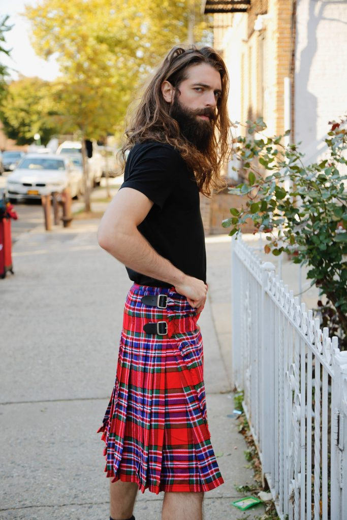MacFarlane Tartan Kilt-right
