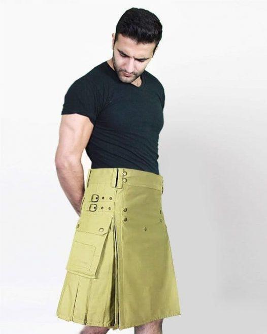 Cargo Kilt For Active Men