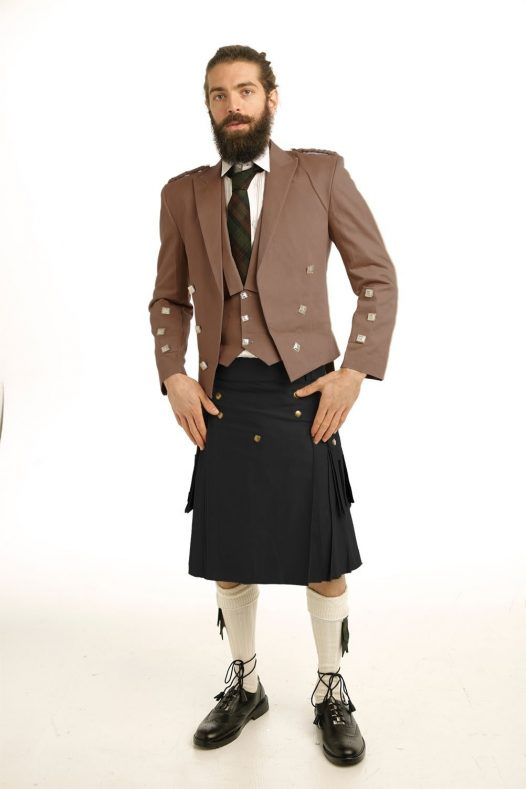Prince Charlie Casual Kilt OutFit