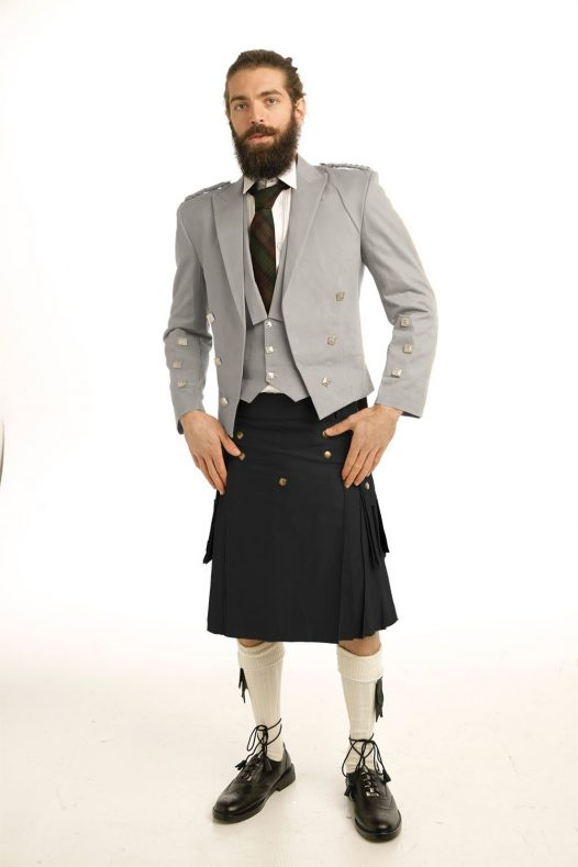 CASUAL PRINCE CHARLIE KILT OUTFIT