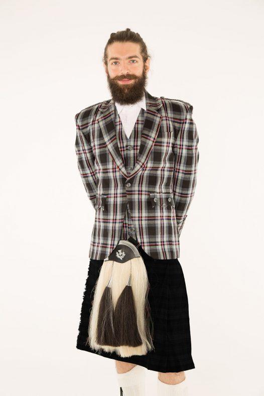 Argyll Tartan Kilt Outfit