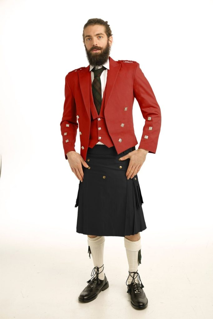 Casual Prince Charlie Kilts Outfit