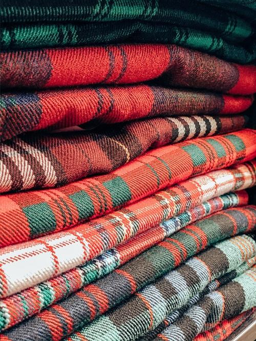 tartan fabrics fo kilts