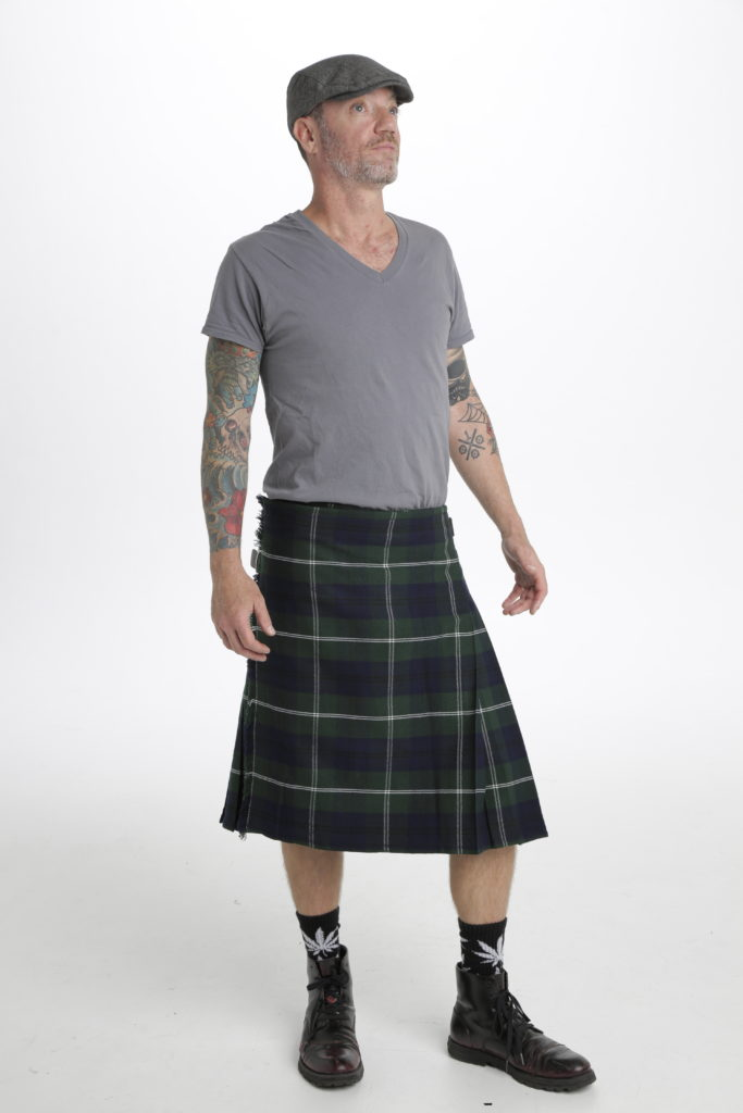 Mod Oliphant Tartan Kilt-right