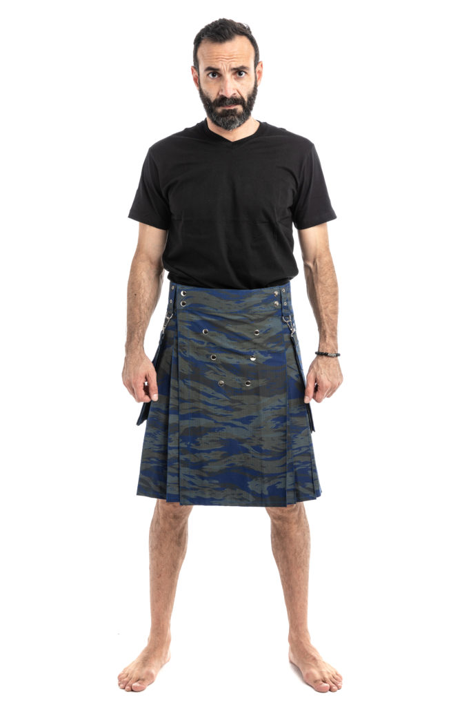 Camo TACTICAL MODERN KILTS-front