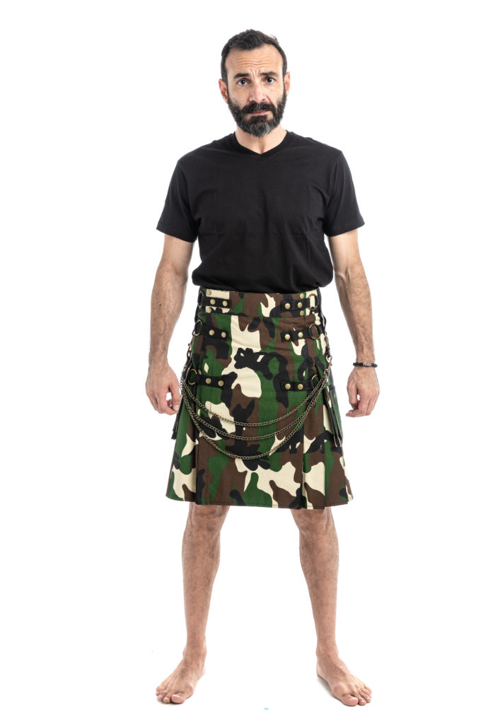 Tactical Fashion Kilts-front