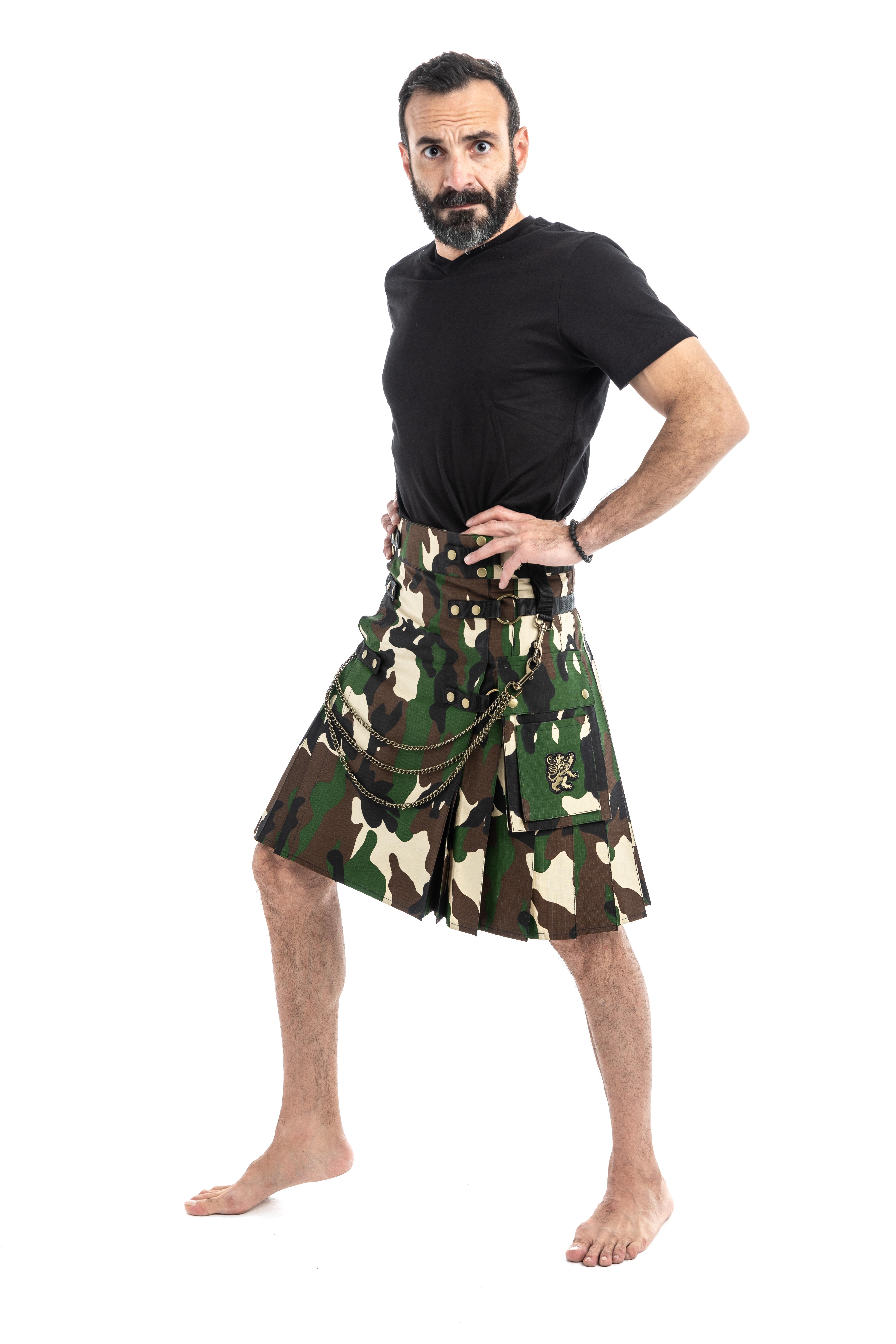 Tactical Fashion Kilts-left