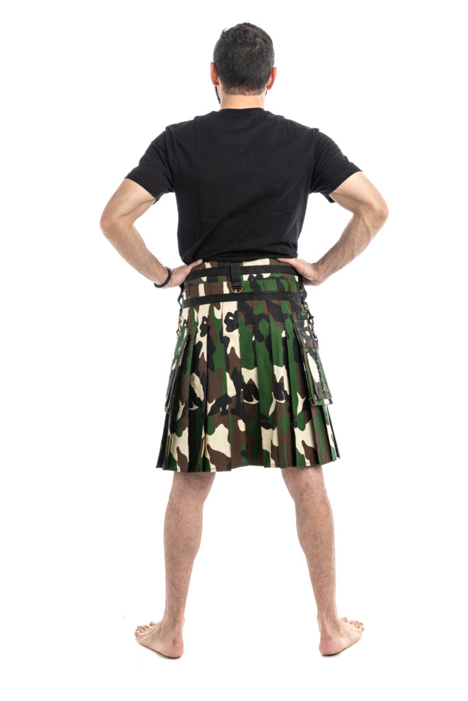 Tactical Fashion Kilts-back