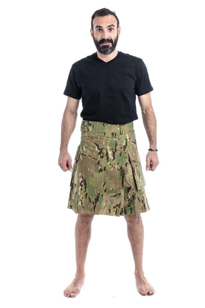 TACTICAL UTILITY KILT-frontside
