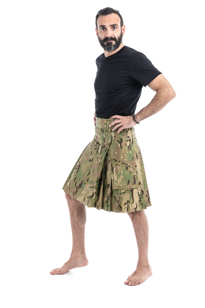 TACTICAL UTILITY KILT-leftside