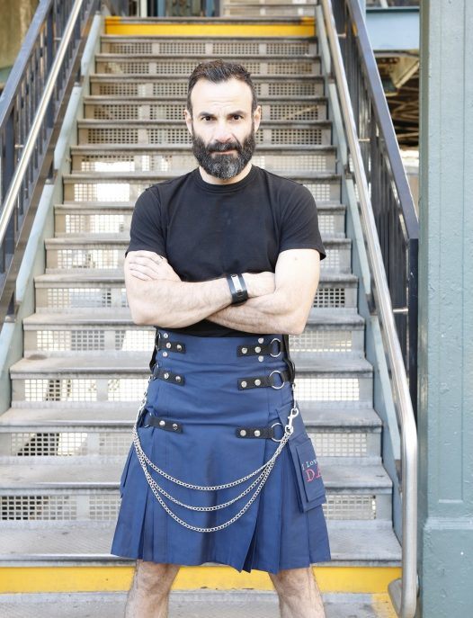 Fashion Utility Kilt For Stylish Men