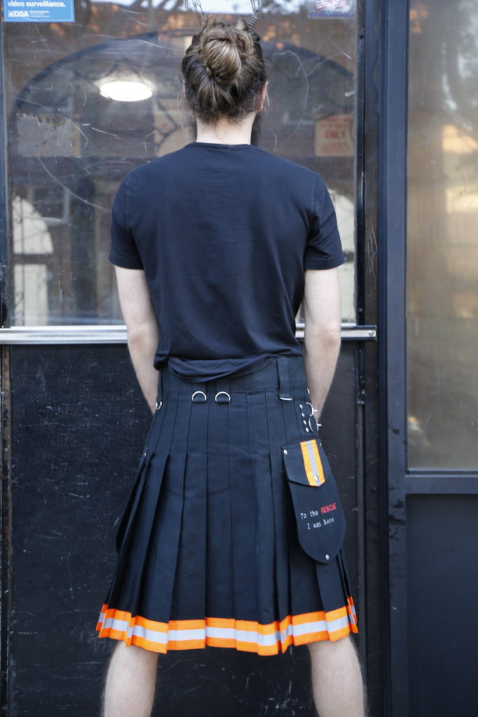 FireFighter High Visibility Kilt-back