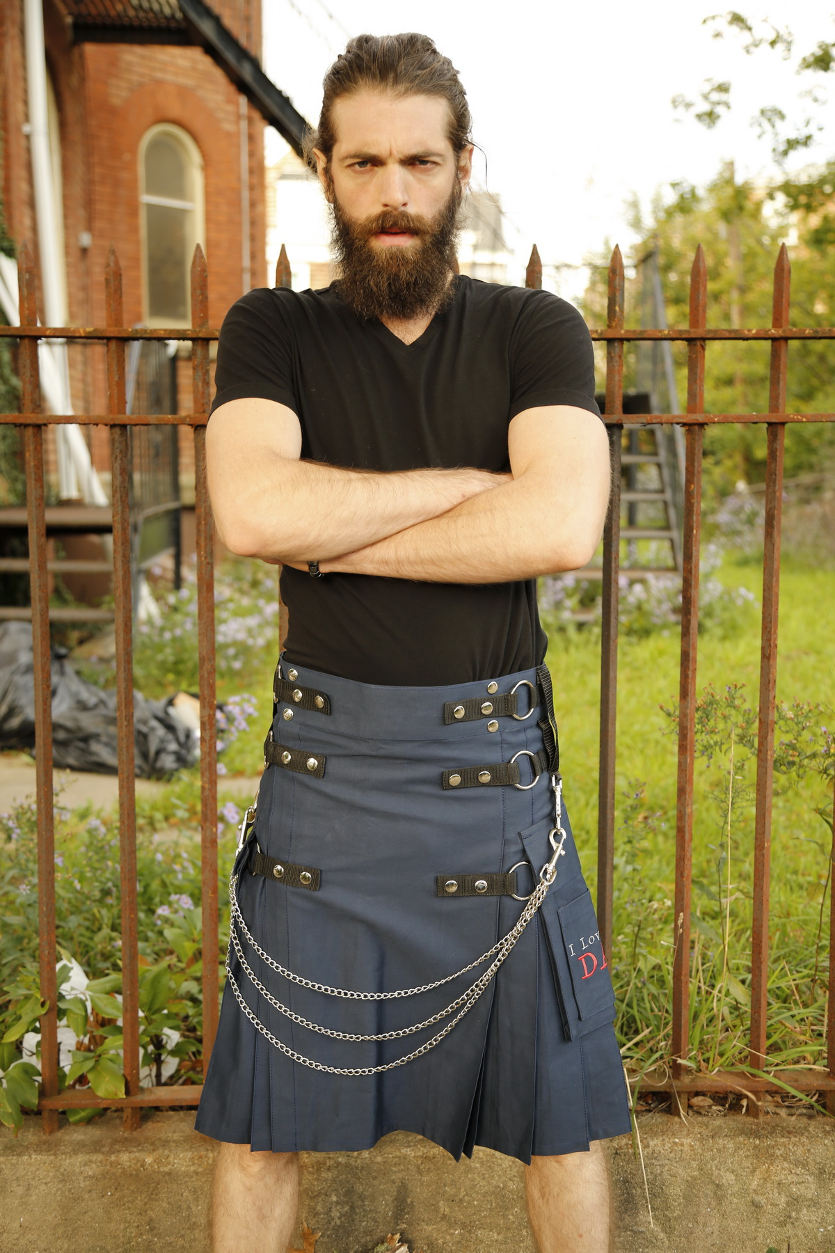 Fashion Kilt For Stylish Men-front
