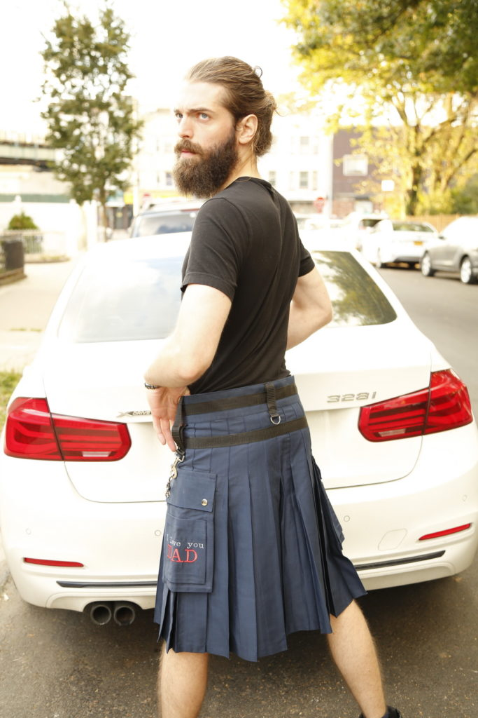 Fashion Kilt For Stylish Men-left