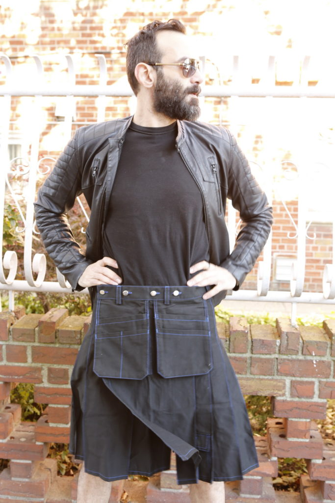 Workwear Kilt For Working Men-front