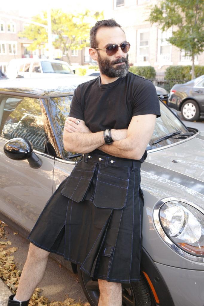 Workwear Kilt For Working Men-left
