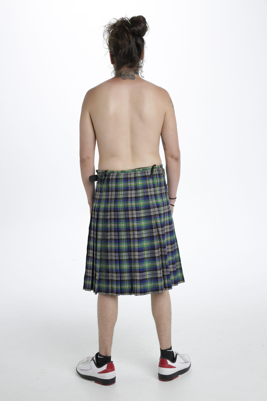 Abel Tartan kilt-back