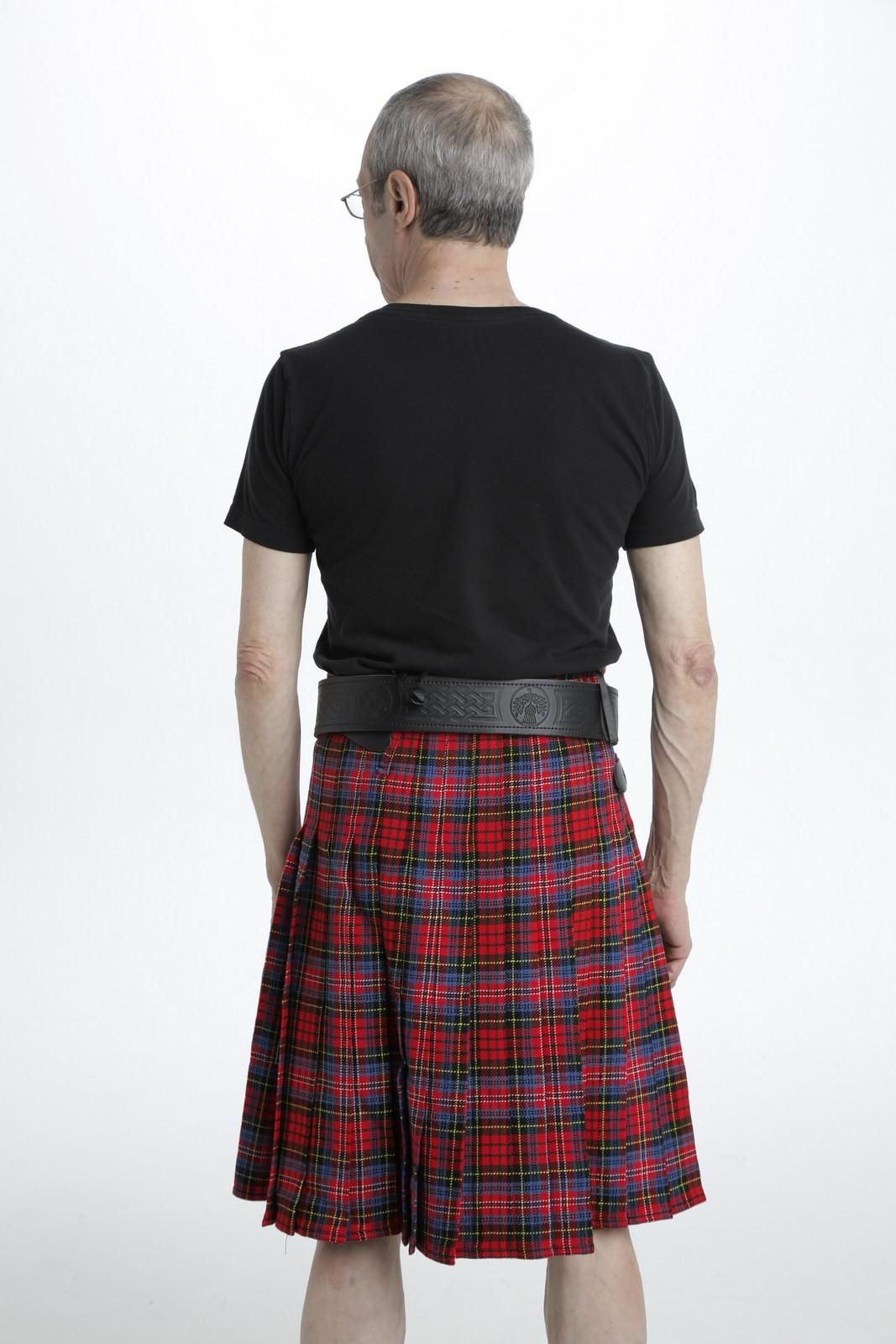 MacPherson Tartan Kilt-back