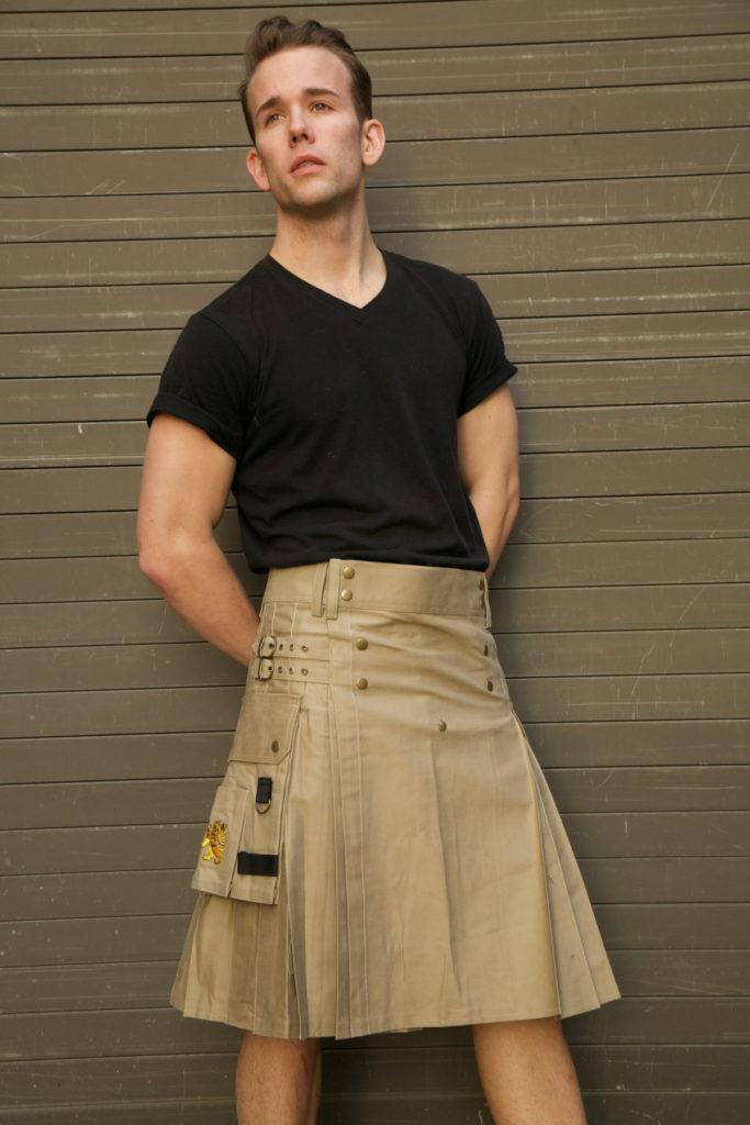 Utility Kilt For Working Men front