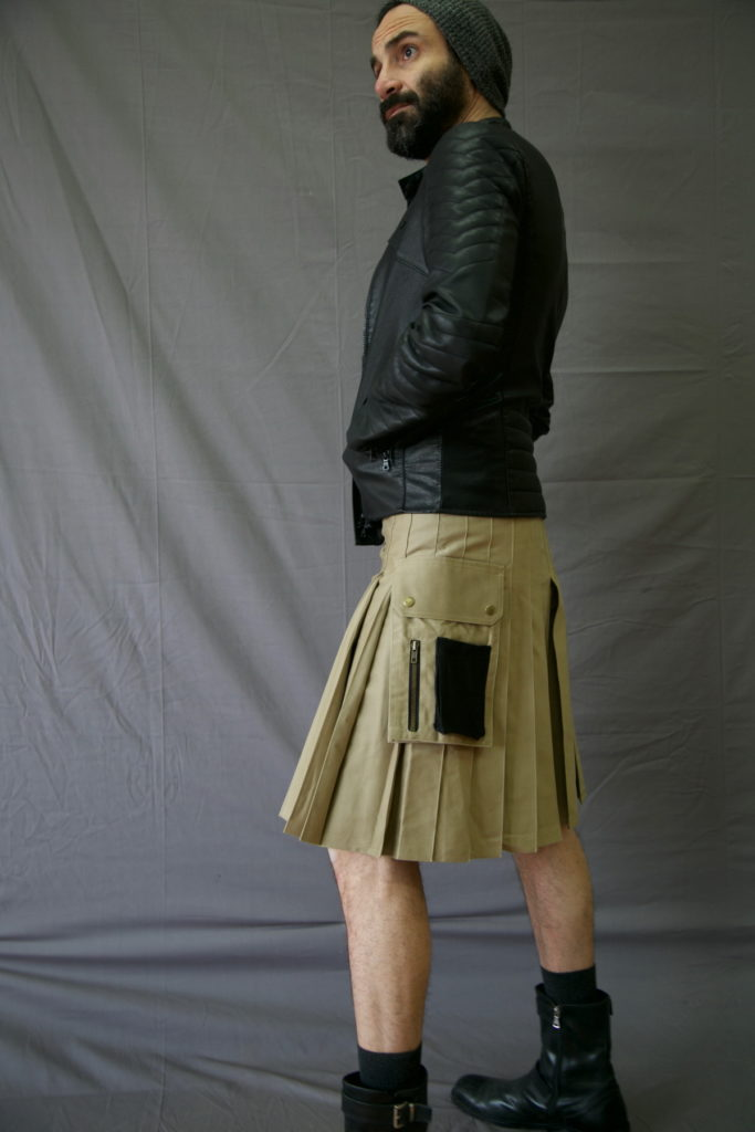 Utility Kilt For Working Men back