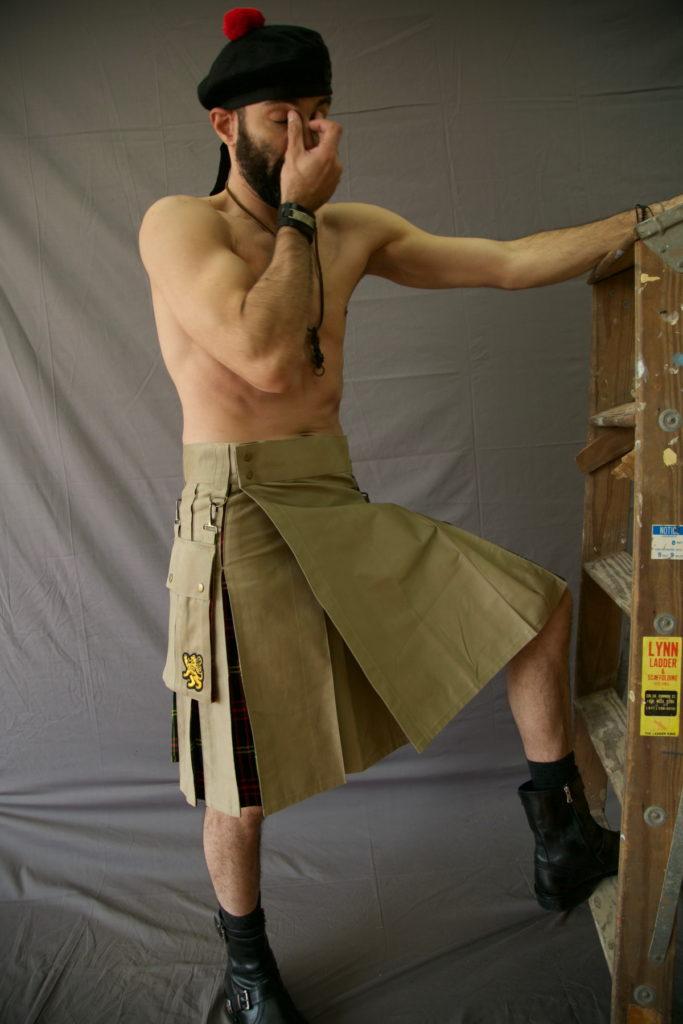 Utility Kilt For Working Men right