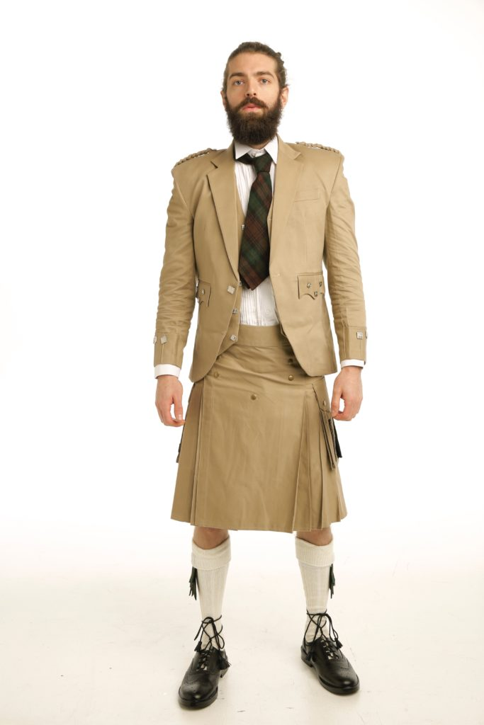 Casual Prince Charlie Kilts Outfit front
