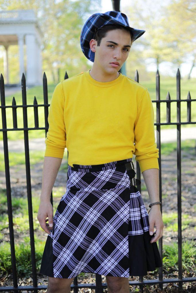 Modern Dress Tartan Hybrid Kilt