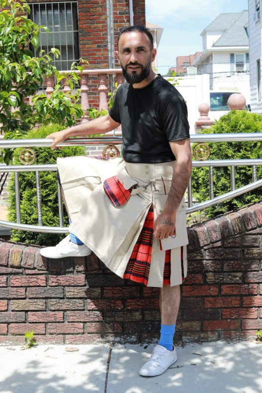 Mix & Match Hybrid Kilt With Sporran