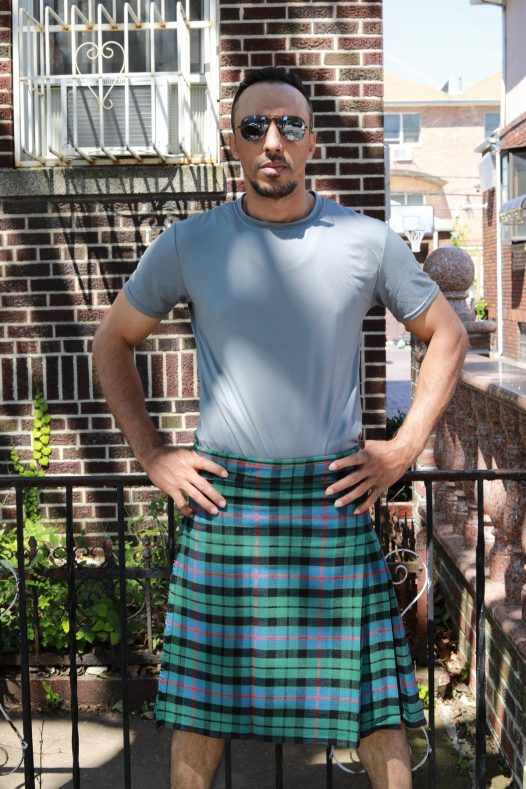 Morrison Green Ancient Tartan Kilt