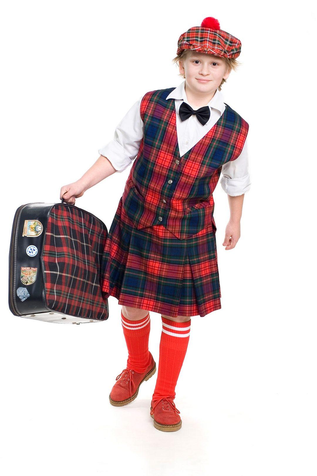 Custom Made Kids Kilt Outfit