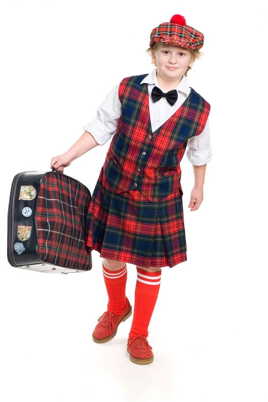 Custom Made Kids Kilt Outfit
