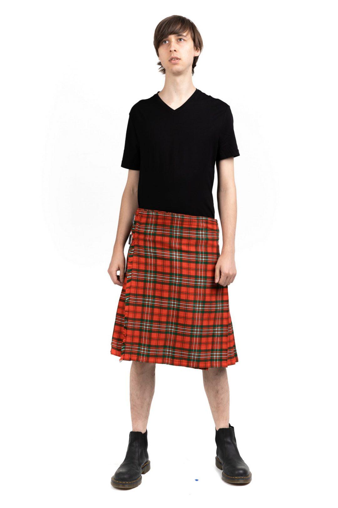 Scott Tartan Kilt and Outfit